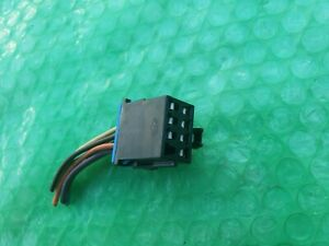 CHEVY PONTIAC GMC A/C HEATER CLIMATE CONTROL PIGTAIL CONNECTOR OEM WIRING WIRE