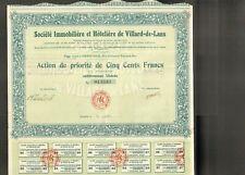 Société Immobilière & Hôtelière de VILLARD-DE-LANS (38) (B)