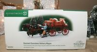 Dept 56 Dickens' Village Gourmet Chocolates Delivery Wagon  #58523 In box, HTF
