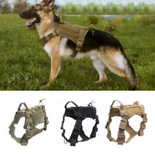 Tactical Training Dog Coat Molle Adjustable K9 Dog Harness with Handle