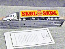 Matchbox Skol Lager Scania Tractor Trailer Int Brewmaster w/COA ships free