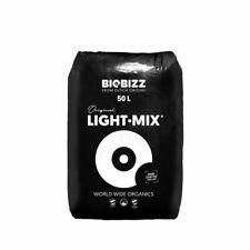 BioBizz Light·Mix 50L LightMix Pflanzerde Light-Mix mit Perlite Grow Erde Light
