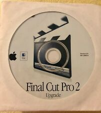 Apple Mac Macintosh Final Cut Pro 2 Disc 2001 FREE SHIPPING
