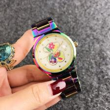 New Luxury Women's Stainless steel colour Wrist Watch Shellfish Teddy Bear Watch