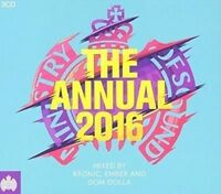 MINISTRY OF SOUND The Annual 2016 2CD NEW Mixed By Kronic, Ember and Dom Dolla