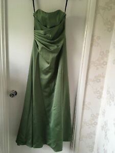 Alfred Angelo bridesmaid/prom/occasion dress in Clover (sage green) size 8