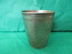 Antique 18th Century German 800 Silver Drinking Cup, Nuremberg Nurnberg 1790's