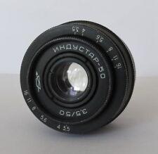 INDUSTAR - 50 3.5/50 M42 Camera Lens Industar