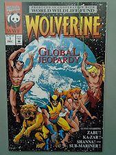 WOLVERINE: IN GLOBAL JEOPARDY (1993) - VF- Marvel Namor Kazar