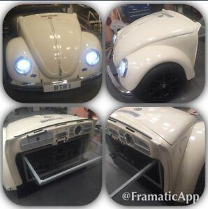 Classic Beetle VW Volkswagen Herbie Style Desk Reception Counter Car Furniture