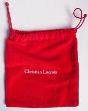 Pochette en velours pour bijou CHRISTIAN LACROIX  jewel
