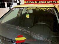 Adhesivo Lateral Decal stickers Vinilos Coche SEAT Sport RS Leon Ibiza 90x8cm