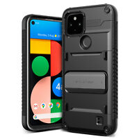 For Google Pixel 4a 5G Case VRS® [Damda QuickStand] Slim Sturdy KickStand Cover