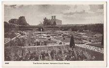London; Hampton Court, The Dutch Garden PPC, Unposted, By Gale & Polden