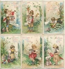 Chromo Liebig Sang. 558 ITA Gioventù Felice ANNO 1898
