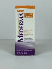 Mederma Quick Dry Oil for Scars Stretch Marks - 2 fl oz 60 mL - New