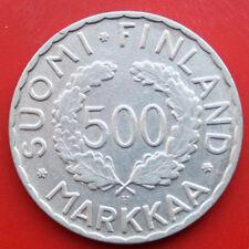 Finnland-Suomi: 500 Markkaa 1952 Silber, KM# 35, VZ-XF, F# 0878