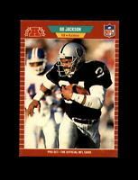 1989 Pro Set Football #185 Bo Jackson (Raiders) NM-MT