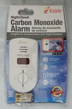 Kidde 900-0234 Nighthawk Carbon Monoxide Alarm, Long Life AC Powered w Batterery
