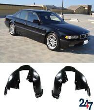 BMW NEW E38 1994 - 2001 FRONT INNER WHEEL ARCH FENDER LINER PAIR SET LEFT RIGHT