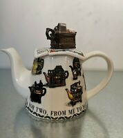 Paul Cardew SIGNED Tea For Two Teapots Collector's Edition teapot 1997-98.