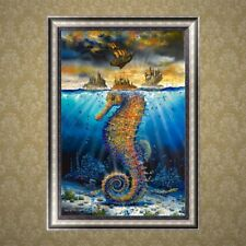 Hippocampus DIY 5D Diamond Embroidery Painting Cross Stitch Kit Home Decor
