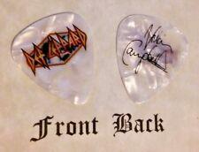 DEF LEPPARD - VIVIAN CAMPBELL band logo signature guitar pick  -W