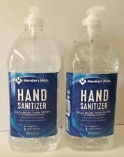 Hand Sanitizer Dispenser Moisturizing vitamin E 2x 67 oz Member's Mark FAST SHIP