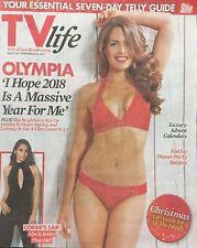 TV Life 26/11/17 Olympia Valance - Sair Khan