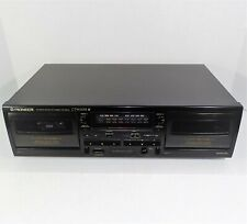 New ListingPioneer Ct-W205R Dual Double Stereo Cassette Deck Player Recorder Auto Reverse