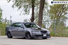 Rc10 Rohana 20x9 +35 20x10 +40 5x114 Black Wheels Fit Acura Tl Type-S Staggered