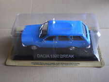 "DIE CAST "" DACIA 1300 BREAK "" LEGENDARY VOITURES SCALA 1/43"