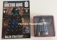 DOCTOR WHO FIGURINE RARE DALEK #11 NEW PARADIGM STRATEGIST SUBSCRIBER EAGLEMOSS