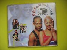 T SPOON-SEX ON THE BEACH. 1997 4 TRACK CD SINGLE. POP DISCO REGGAE SKA