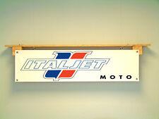 Italjet Banner retro Motorcycle Garage Workshop Sign M50Es