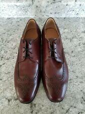 Allen Edmonds Carlton Men's Wingtip Medallion Derby Dress Shoes Size 14 B