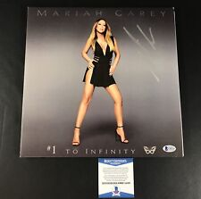 MARIAH CAREY SIGNED #1 TO INFINITY VINYL ALBUM LP AUTHENTIC AUTOGRAPH BECKETT