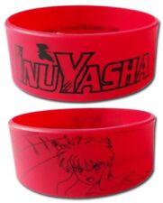 *NEW* InuYasha: Inuyasha Logo PVC Wristband by GE Animation