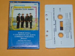 RAMON AYALA Y LOS BRAVOS DEL NORTE Corridos Nortenos Cassette