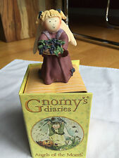 GNOMY'S Dairies - ANGEL of the MONTH -September- NEW in Box - 2002 Annekabouke