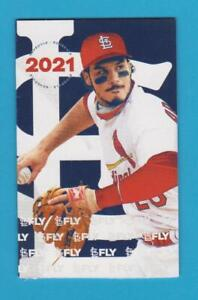 2021 St. Louis Cardinals Pocket Schedule Nolan Arenado Bank of America Mint