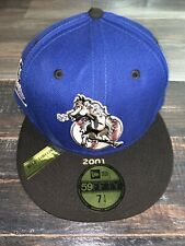 New Era 59FIFTY San Bernardino Stampede 100th Anniv. Patch Fitted Cap NWT 7 1/4