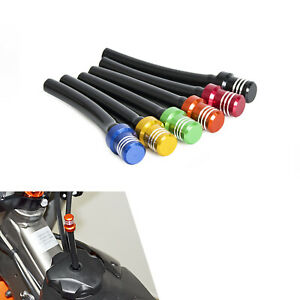Motorcycle Gas Fuel Cap Valve Vent Breather Hose Tube For ATV PIT Dirt Bike Tank