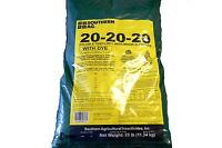 20-20-20 Water Soluble Fertilizer with Minor Elements - Plant Starter - 25lb Bag