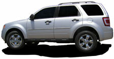 BODY SIDE Moldings PAINTED With Chrome Trim Insert For: FORD ESCAPE 2008-2012