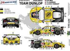 "[FFSMC Productions] Decals 1/43 Ferrari F-430 LMGT2 ""Team Dunlop"" (LM 2009)"