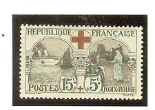 YVERT N° 156 COTE € 140,00 TIMBRES FRANCE LEGERE TRACE DE CHARNIERE