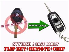 New Flip Key For Bmw 7 5 E39 EWS Remote 3 Button Fob 315Mhz With Chip 7935 Kfb3