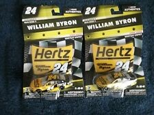 NASCAR AUTHENTICS HERTZ William Byron #24 LIQUID GOLD CHASE and REGULAR Set, New