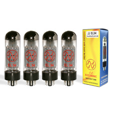 JJ EL34 Matched Quad / Quartett ( Röhre Power Tube Amp Valve 6CA7 Tesla )